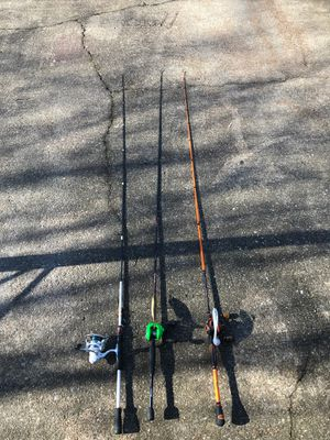 Fishing rods and reels for Sale in Virginia Beach, VA