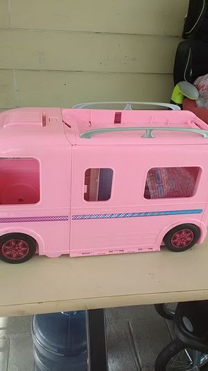 Girl Barbie camper San Bernardino for Sale in DEVORE HGHTS, CA