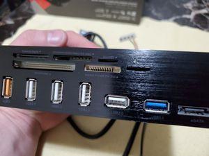 EZDIY-FAB 5.25 USB 3.0 multi-card reader. for Sale in Bakersfield, CA