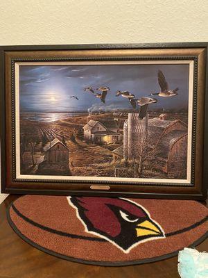 "Terry Redlin-""Night Flight"" 75th Anniversary edition Ducks Unlimited for Sale in Lincoln, NE"