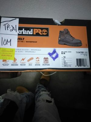 Timberland outdoor work boots, steel toe, scuff proof,shank proof,water proof, Thermo resistance for Sale in Baton Rouge, LA