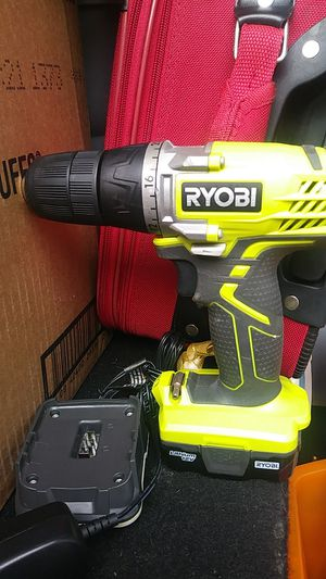 Ryobi drill 12v with battery and charger for Sale in San Jose, CA