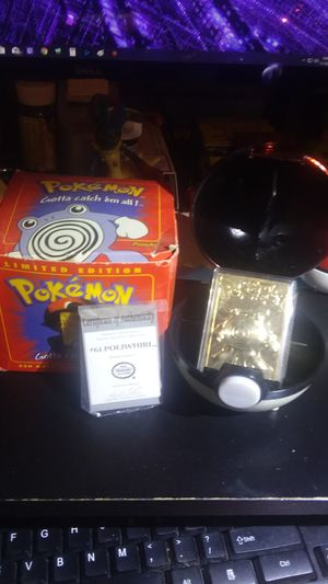 Pokemon Cards 23k Gold Plated Polywhirl 1999 for Sale in Waynesboro, TN