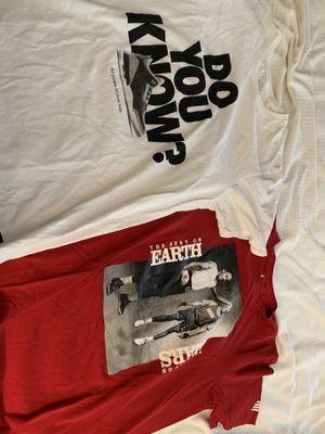 Two Nike Michael Jordan t-shirts - men's large for Sale in Apex, NC
