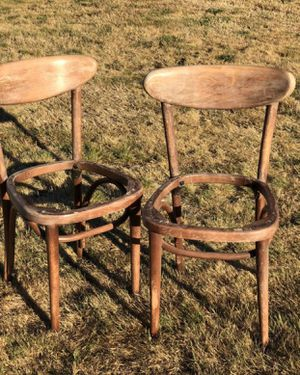 Old vintage bentwood chairs for Sale in Graham, WA