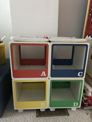 Baby Changer - can also be used as storage for books and toys for Sale in Oshkosh, WI