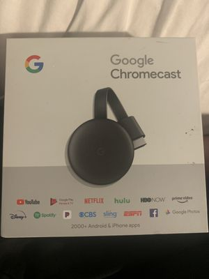 Google ChromeCast for Sale in El Cajon, CA