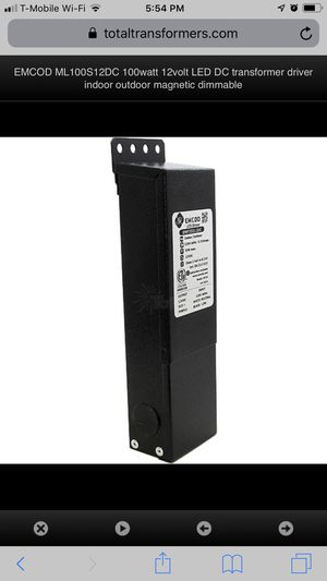 100 amp 50 amp watts Low-voltage transformer for Sale in Los Angeles, CA