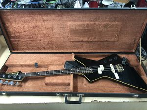 Guitar/bass Vintage Ibanez Destroyer 2 Made in Japan X Series in case for Sale in Baltimore, MD