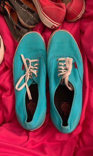 Blue Men's vans size 13 only have been worn a few times for Sale in Medford, OR