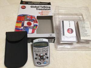 Nyrius global talking translator for Sale in Silver Spring, MD