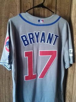 Sports Card With Kris Bryant Cubs Majestic Xl Jersey for Sale in Galesburg,  IL