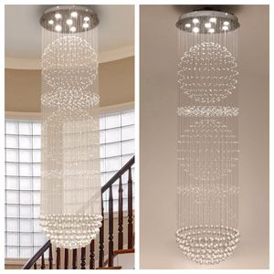 NEW Raindrop Chandelier Glass Fixture Stainless Steel Base Dimmable Lighting Modern Art Home Decor for Sale in San Diego, CA
