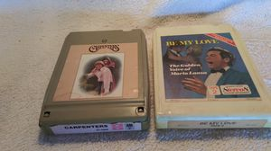 TWO 8-Track Tapes for Sale in Milan, MI
