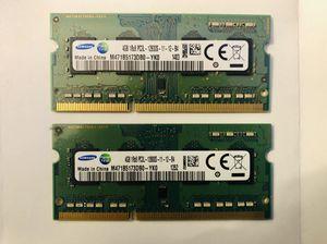 SAMSUNG DDR3 8gb Kit (4gbx2) for Sale in Huntsville, AL