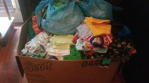 Large baby boy clothing lot nb-12m mix for Sale in McKnight, PA