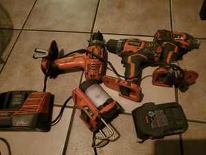Ridgid power tools for Sale in Stockton, CA