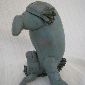 Disney Charpente Eeyore Upside Down Figurine Classic Pooh Heavy Resin for Sale in Cypress, CA