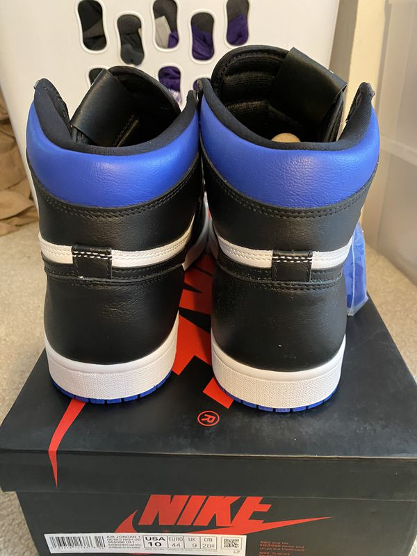 Jordan 1 Royal Toe Size 10