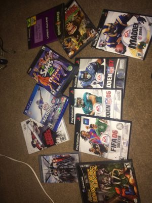 Ps2 Games & Other for Sale in Montgomery Village, MD