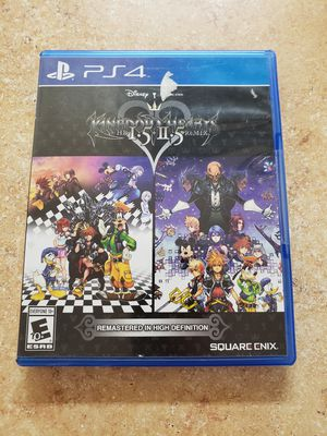 Kingdom Hearts 1 and 2 HD remixes - PS4 for Sale in Signal Hill, CA