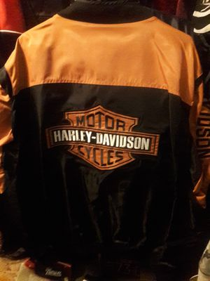 Mens Size 4 XL Official HD Jacket. for Sale in Coventry, RI