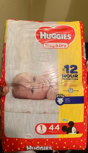 Huggies & Pampers size 1 for Sale in Orlando, FL