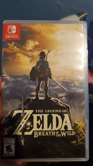 The legend of zelda Breath of the wild for Sale in Fontana, CA