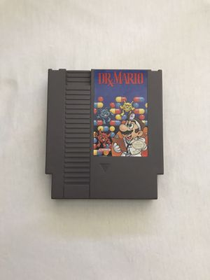 Original Nintendo NES Game Dr. Mario Plays Fine Great Condition for Sale in Reedley, CA