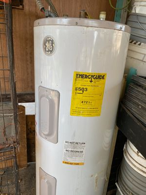 Electric water heater 48 gallons still in great condition for Sale in Modesto, CA