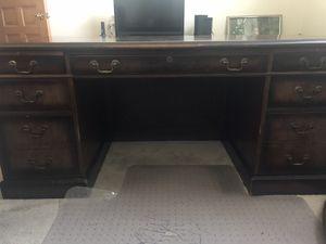 Walnut desk for Sale in Dublin, OH