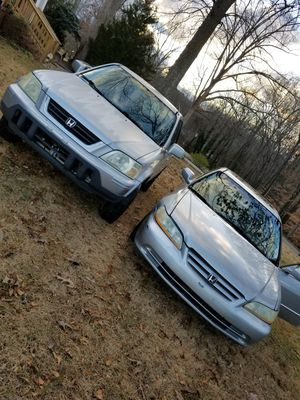 Selling two Hondas for $1700. for Sale in Fountain Inn, SC