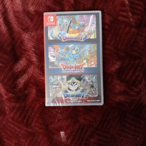 (SEALED) Dragon Quest I + II+ III Collection- Switch Import for Sale in Santa Maria, CA