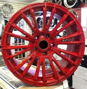 """Brand New 18"""" DT6 5x114.3Red Wheels for Sale in Miami Springs, FL"""