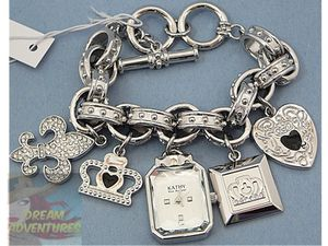 *NEW* Kathy Van Zeeland charm watch for Sale in Evansville, IN