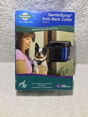 PETSAFE Gentle Spray Anti-Bark Collar (SNS-BK-C) - SEALED for Sale in Graham, WA