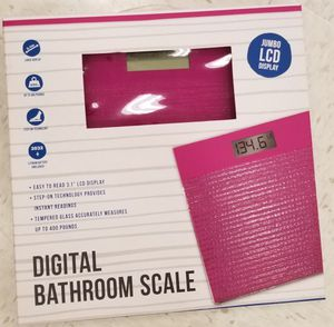 Digital bathroom scale for Sale in Chicago, IL