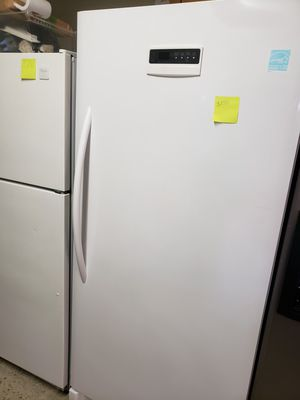 Frigidaire up right freezer warranty financing $50 down payment if you qualify for Sale in Ceres, CA