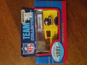 1991 Limited Edition Vikings Matchbox Team Collectibles for Sale in Newburgh, IN