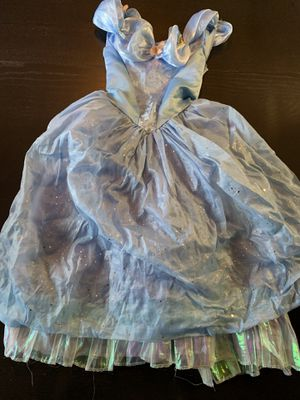 Lots of dress up items 7$ each. Elsa Anna little mermaid Cinderella for Sale in Vancouver, WA