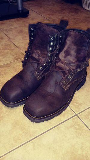 Cody James steel toe work boots! for Sale in Phoenix, AZ