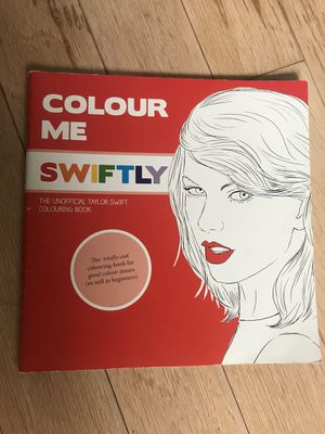 Taylor Swift coloring book: Colour Me Swiftly. New. for Sale in Dallas, TX