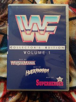 Wwf Collector's Edition Volume One 3 Dvds for Sale in Chicago,  IL