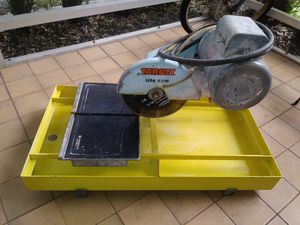 Tile saw very good conditions. for Sale in Pembroke Pines, FL
