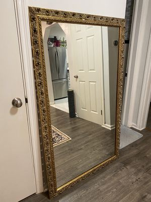 Golden vintage mirror for Sale in Alexandria, VA