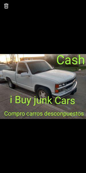 Wey Buy jun junk Cars compro carros descompuestos pago efectivo for Sale in Dallas, TX