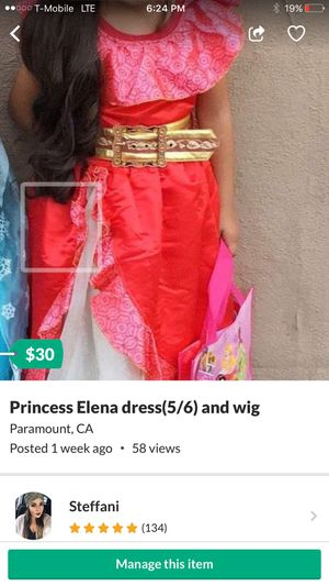 Girl and toddler Halloween costumes for Sale in Downey, CA