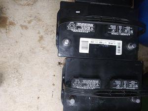 2 group 65 commercial everstart batteries new for Sale in Windsor, CT