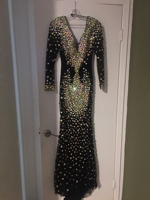 Black maxi gown / dress for Sale in Corona, CA