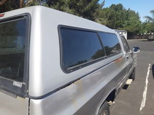 Snugtop camper shell for long bed chevy square. Body only for Sale in Gilroy, CA